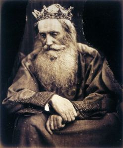 julia Margaret Cameron: Study of King David
