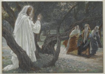 James Tissot: Jesus Appears to the Holy Women