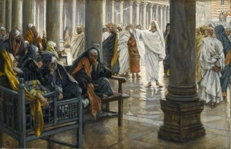 Tissot: Woe unto you, Scribes and Pharisees