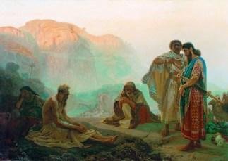 Ilya Yefimovich Repin: Job and His Friends