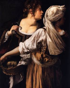 Artemisia Gentileschi: Judith and her Maidservant
