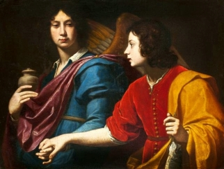 Lippi: Tobias and the Archangel Raphael