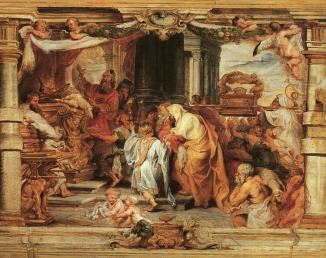 Reubens; Sacrifice of the Old Covenant