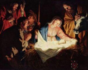 Gerard Van Honthorst: nativity
