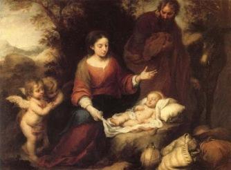 Bartolome Esteban Murillo: The Nativity