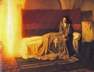 Henry Ossawa Tanner: The Annunciation