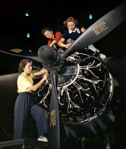 During WW II the percentage of women in the U.S. workforce increased from 27% to 37%