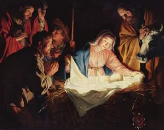 Gerard van Honthorst: The Nativity