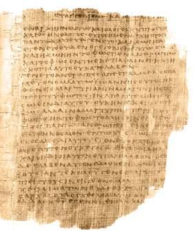 A papyrus of John 1:1-14