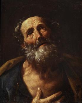 Guido Ren: St. Peter Penitent