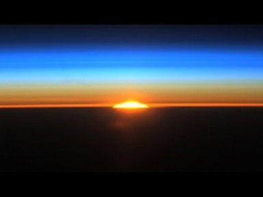 Dawn from the International Space Station