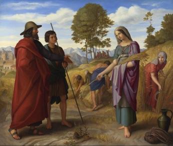 Julius Schnorr von Carolsfeld: Ruth in Boaz's Field