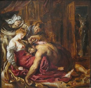 Reubens: Samson and Delilah