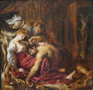 Reubens: Samson and Delilah