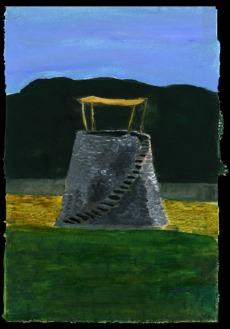 A Vineyard Watch Tower