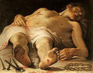 Annibale Carracci: The Dead Christ