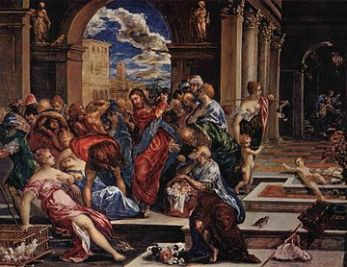 El Greco: Christ Cleasning the Temple