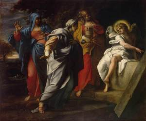 Carracci: Women at the Tomb of Christ