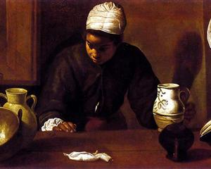 Velázquez: Kitchen Scene with the Supper in Emmaus