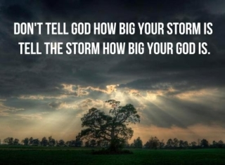 tell the storm