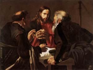 Hendrick Terbruggen: Supper at Emmaus