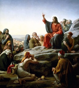 Carl Heinrich Bloch: The Sermon on the Mount