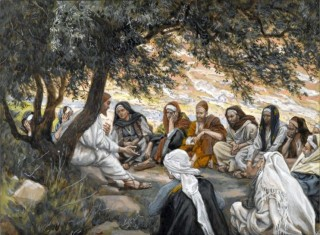 Tissot: Exhortation to the Disciples