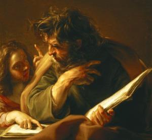 Pompeo Batoni: Matthew the Evangelist