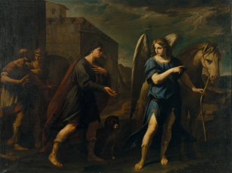 Andrea Vaccaro: Tobias Meets the Archangel Raphael