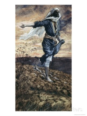 James Tissot: The Parable of the Sower