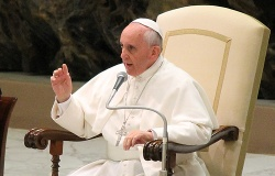 Pope Francis: An audience with students