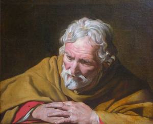 Matthias Stomer: The Penitent Saint Peter