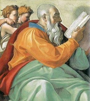 The Sistine Chapel, The Vatican: Michelangelo's Prophet Zechariah