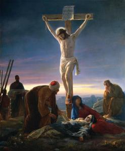 Carl Henrich Bloch: Christ on the Cross