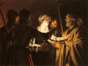 Gerrit Van Honthorst: The Denial of St. Peter
