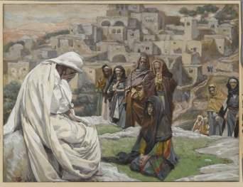 James Tissot: Jesus Wept