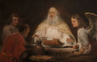 Aert de Gelder: Abraham and the Angels