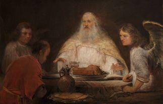 Aert de Gelder: Abraham and the Angels