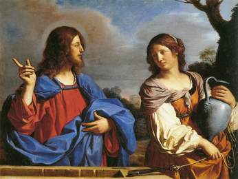 Guercino: Jesus and the Woman at the Well