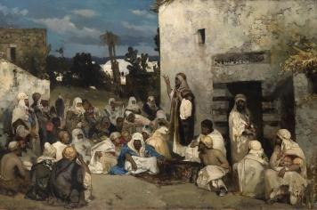 Vasily Alexandrovich Kotarbinsky: The Sermon at Capernaum