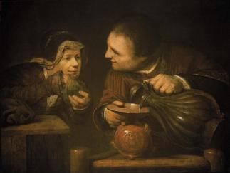Aert de Gelder: Elisha and the Widow of the Prophet