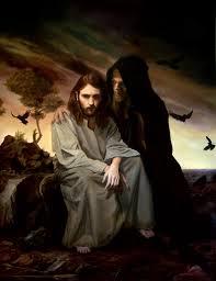 Satan Tempting Jesus