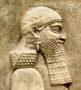 Louvre Museum: Sennacherib relief