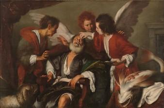 Bernardo Strozzi: Tobias Curing his Father's Blindness