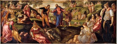 Tintoretto: The Miracles of the Loaves and Fishes