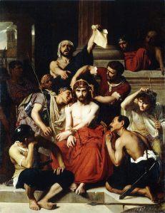 François-Léon Benouville: The Mockery of Christ
