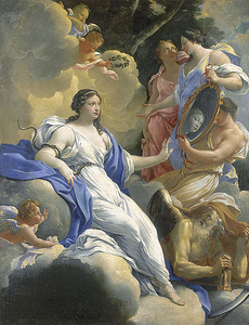 Simon Vouet: Allegory of Prudence