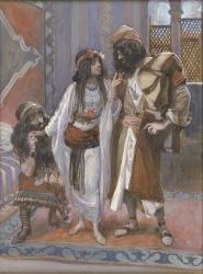 Tissot: The Harlot of Jericho and the Two Spies