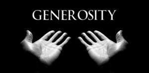 Generosity-hands