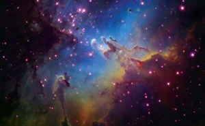 Eagle Nebula is 6500 light years from Earth